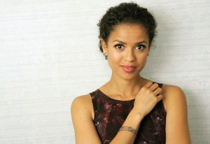 "British actress Gugu Mbatha-Raw, star of the film ""Belle,"" poses for a portrait on day 5 of the 2013 Toronto International Film Festival on Monday, Sept. 9, 2013 in Toronto. (Photo by Chris Pizzello/Invision/AP) ORG XMIT: TOCP112"